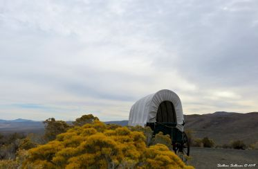 Covered wagon, Baker City 24October2018