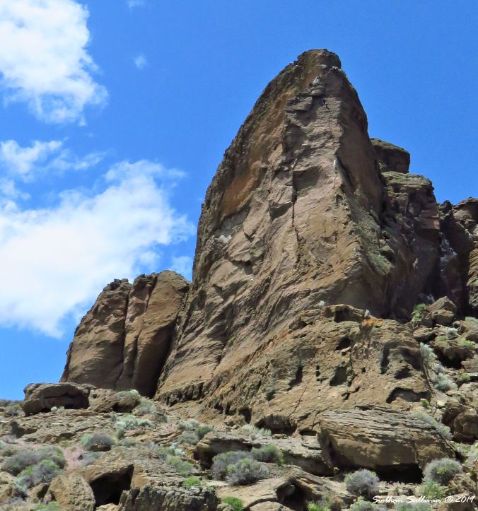 Stories within the layers, Fort Rock 10 June 2016
