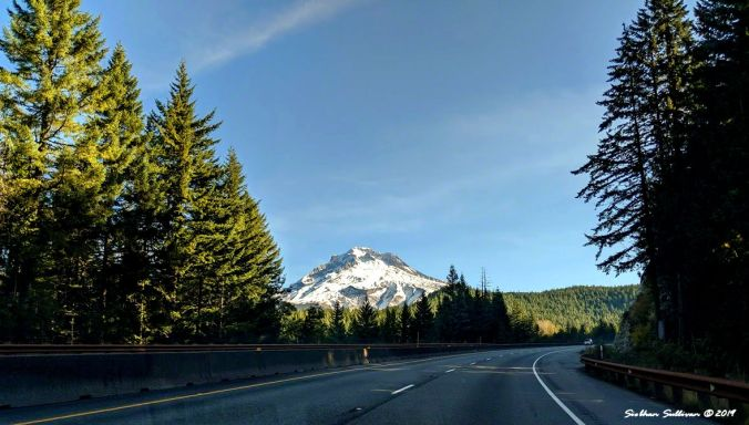 Passing by Mt Hood, Oregon 11October2019