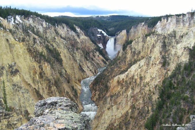Grand Canyon of the Yellowstone, Wyoming 13 June 2020