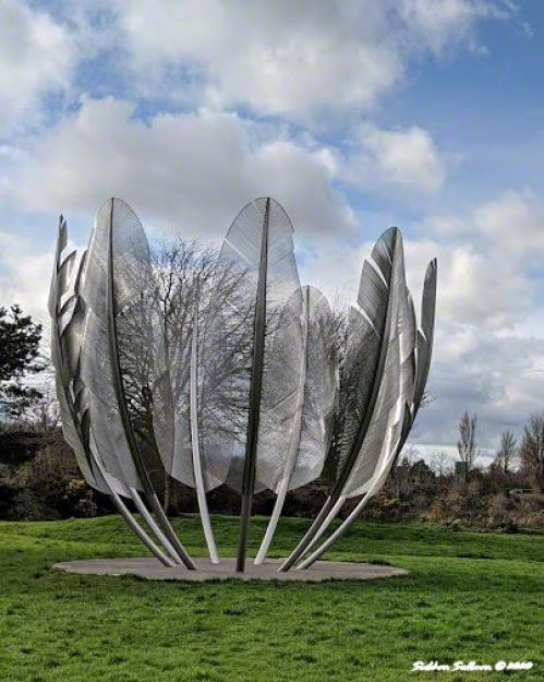 Kindred Spirits sculpture, Midleton, Ireland 5 March 2020