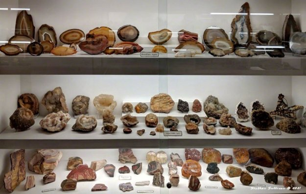 Amazing collection of agates