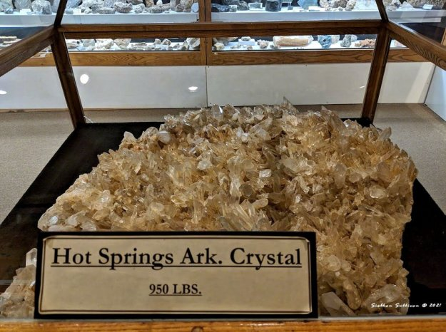 Giant crystal from Arkansas