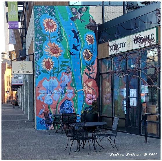Deschutes River mural in Bend, Oregon