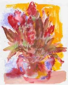 tulipes-sur-fond-jaune