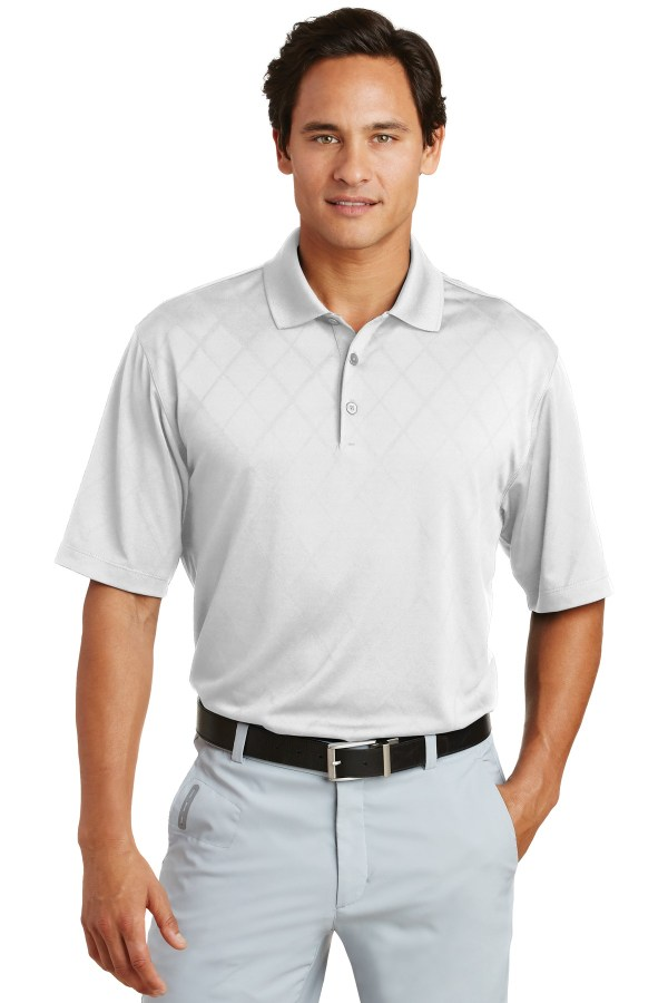 Nike Dri-FIT Cross-Over Texture Polo.  349899