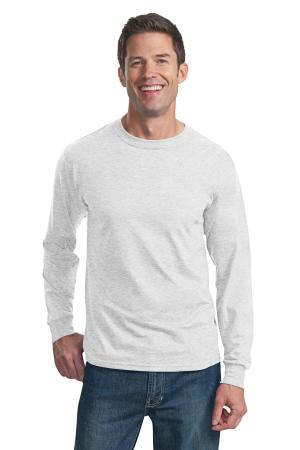 Fruit of the Loom HD Cotton 100% Cotton Long Sleeve T-Shirt. 4930