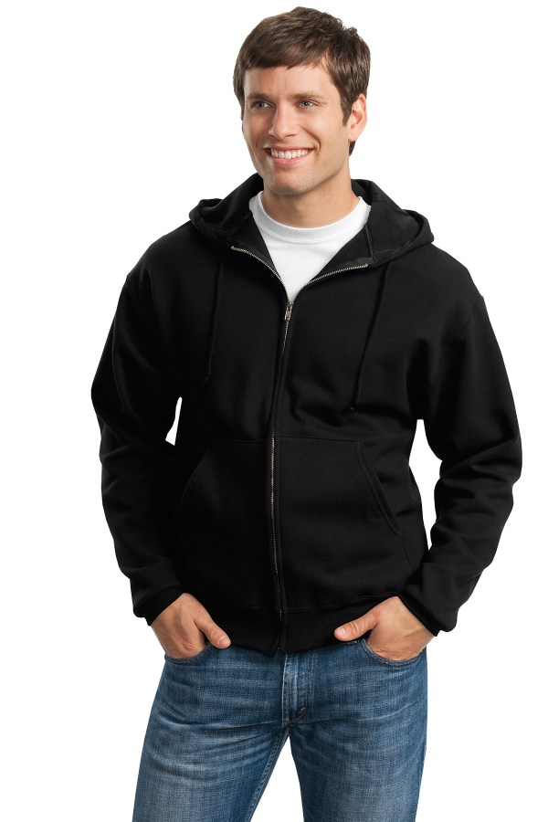 JERZEES Super Sweats NuBlend - Full-Zip Hooded Sweatshirt.  4999M