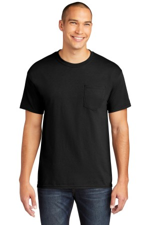 Gildan  Heavy Cotton  100% Cotton Pocket T-Shirt. 5300