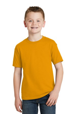 Hanes - Youth EcoSmart 50/50 Cotton/Poly T-Shirt.  5370