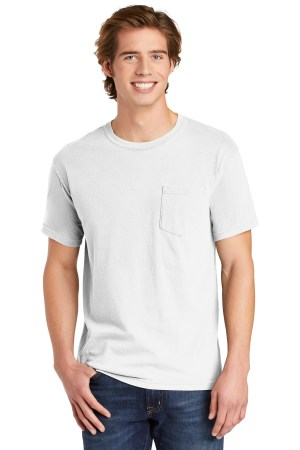 COMFORT COLORS  Heavyweight Ring Spun Pocket Tee. 6030
