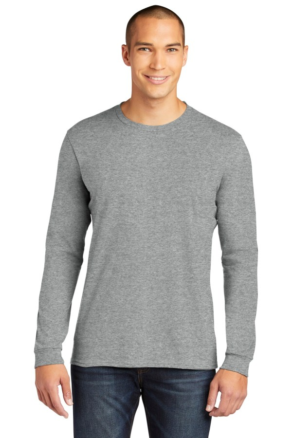 Anvil  100% Combed Ring Spun Cotton Long Sleeve T-Shirt. 949
