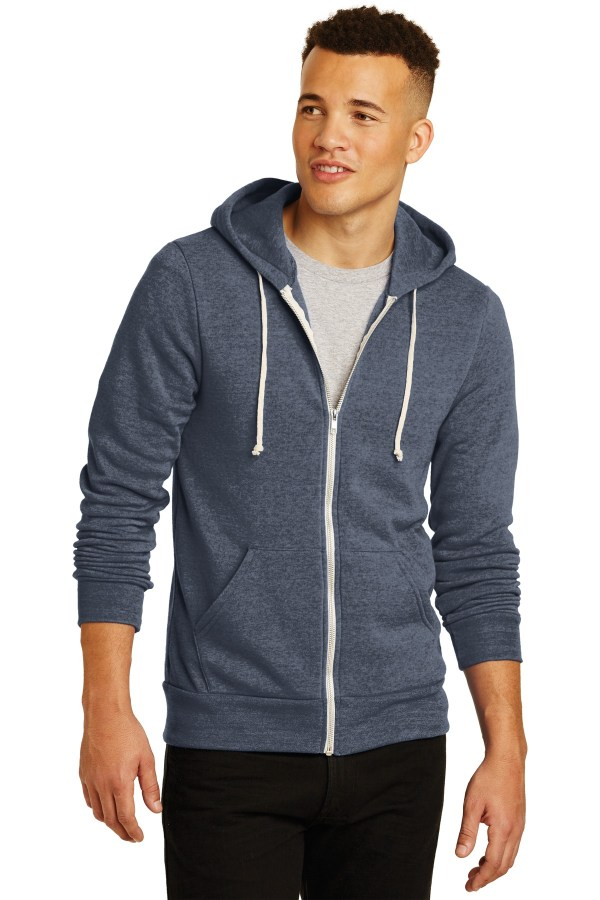 Alternative  Rocky Eco-Fleece Zip Hoodie. AA9590