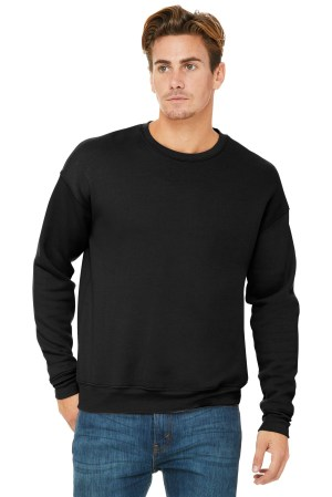 BELLA+CANVAS  Unisex Sponge Fleece Drop Shoulder Sweatshirt. BC3945