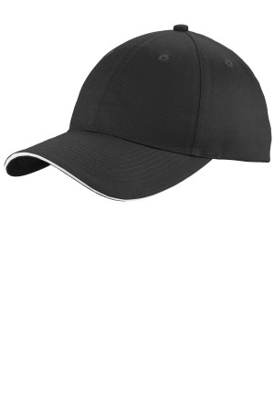Port & Company Unstructured Sandwich Bill Cap. C919