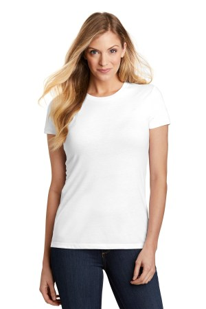 District  Women's Fitted Perfect Tri  Tee. DT155
