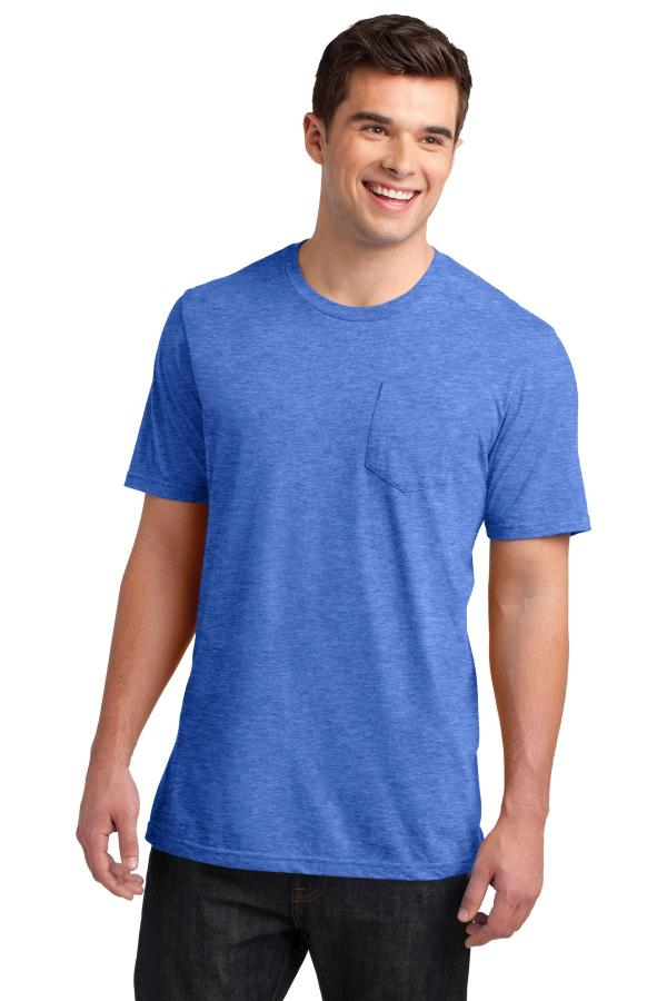 District Very Important Tee with Pocket. DT6000P