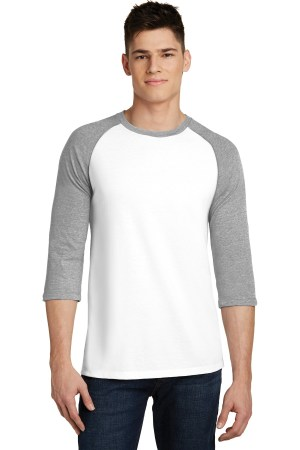 District Very Important Tee 3/4-Sleeve Raglan. DT6210