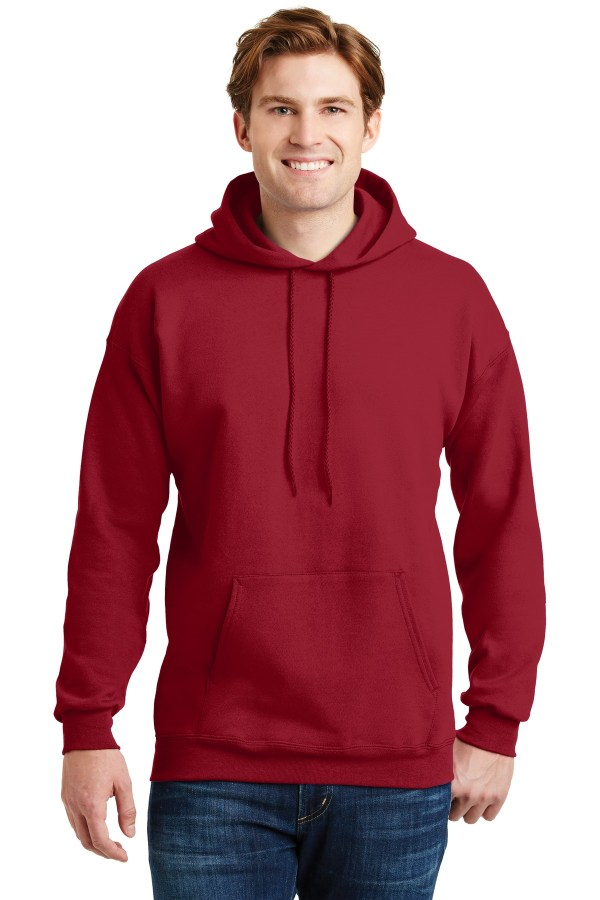 Hanes Ultimate Cotton - Pullover Hooded Sweatshirt.  F170
