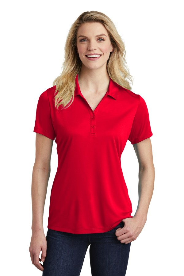 Sport-Tek  Ladies PosiCharge  Competitor  Polo. LST550