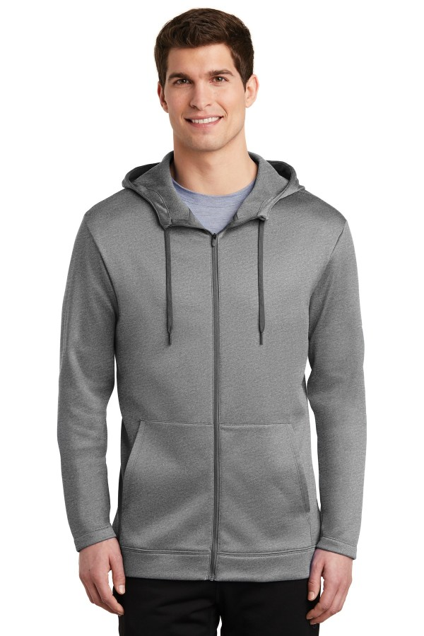 Nike Therma-FIT Full-Zip Fleece Hoodie. NKAH6259