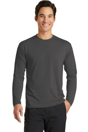 Port & Company Long Sleeve Performance Blend Tee. PC381LS