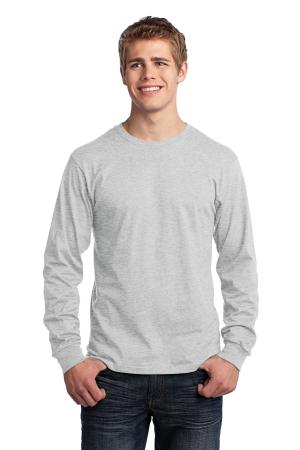 Port & Company - Long Sleeve Core Cotton Tee. PC54LS