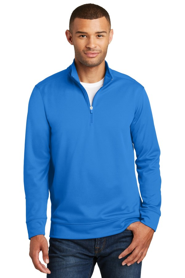 Port & CompanyPerformance Fleece 1/4-Zip Pullover Sweatshirt. PC590Q