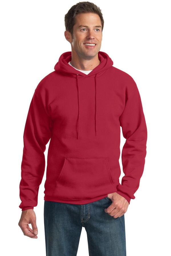 Port & Company Tall Essential Fleece Pullover Hooded Sweatshirt. PC90HT