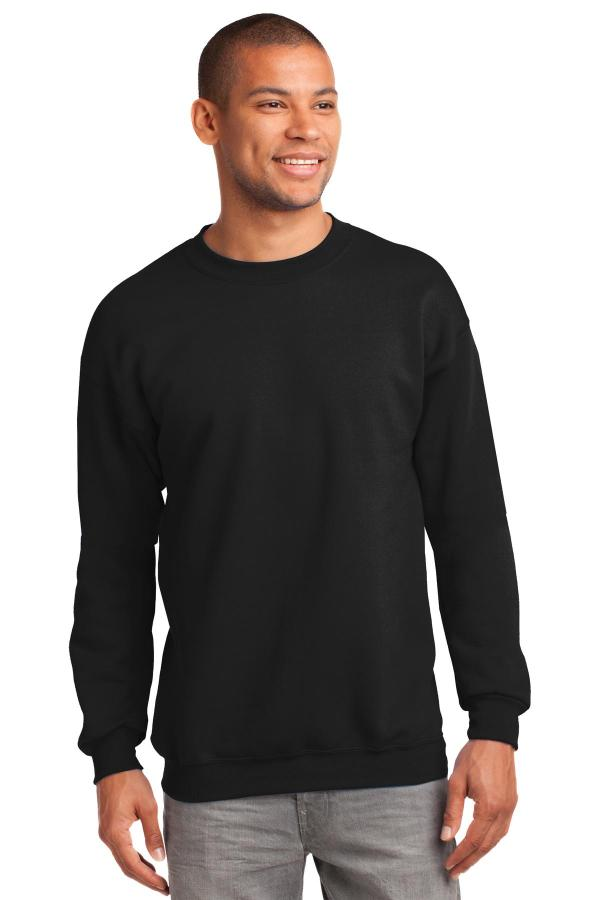 Port & Company Tall Essential Fleece Crewneck Sweatshirt. PC90T