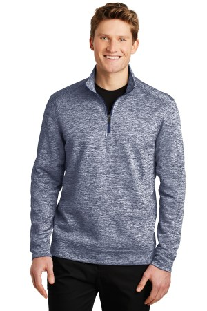 Sport-Tek PosiCharge Electric Heather Fleece 1/4-Zip Pullover. ST226
