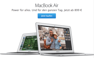 Ein neues Macbook Air zum Apple Oktober Event 2018