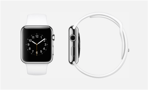 Bildschirmfoto Apple Watch weiß. Quelle: Apple
