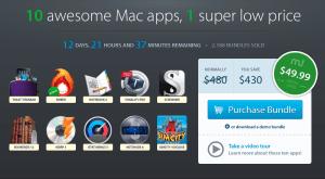 Die Apps aus dem Macupdate-Bundle. Quelle: macupdate.com