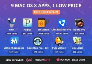 9 Produktivitäts-Apps für Mac zum Preis von einer. Quelle: Bundlehunt