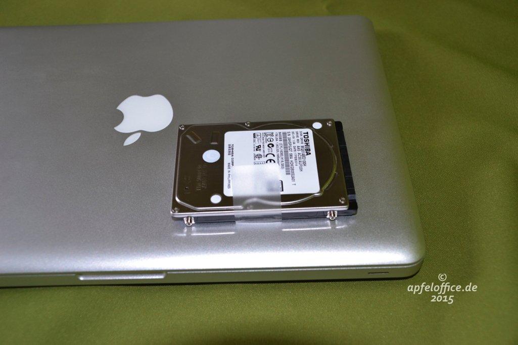 """SSD nachrüsten in 5 einfachen Schritten für MacBook Pro 13"""", 15"""" oder 17"""" – Anleitung"""