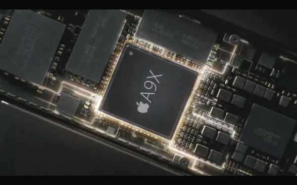 Mehr CPU- und Grafik-Leistung im iPad Pro durch neuen A9X-Chip mit 64 Bit. Quelle: Apple