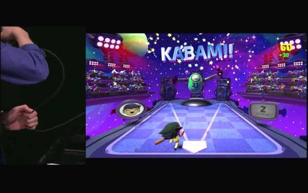 Wii-ähnliches Spielen am Apple TV 2015. Quelle: Apple