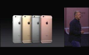 Apple stellt neue iPhone Modelle 6s und 6s Plus vor. Quelle: Apple