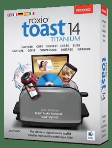 Toast Titanium 14 Standard. Quelle: Roxio