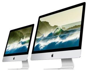 """Die neuen iMac mit Retina Display 21,5"""" und 27"""". Quelle: apple.de"""