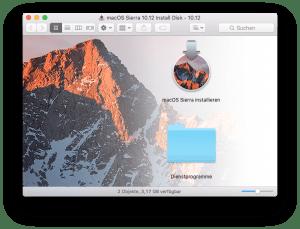 macOS Sierra Installation USB-Stick ist fertig erstellen