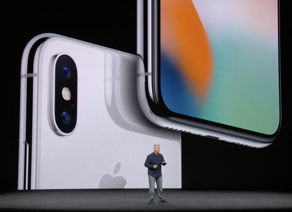 iPhone X 2017. Quelle: Apple