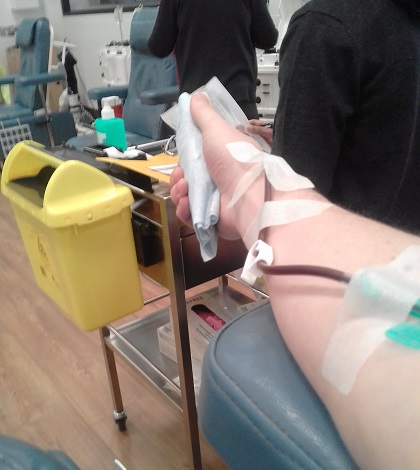 Strathfieldsaye Man Convinced Blood Donations Go Straight to Vampires