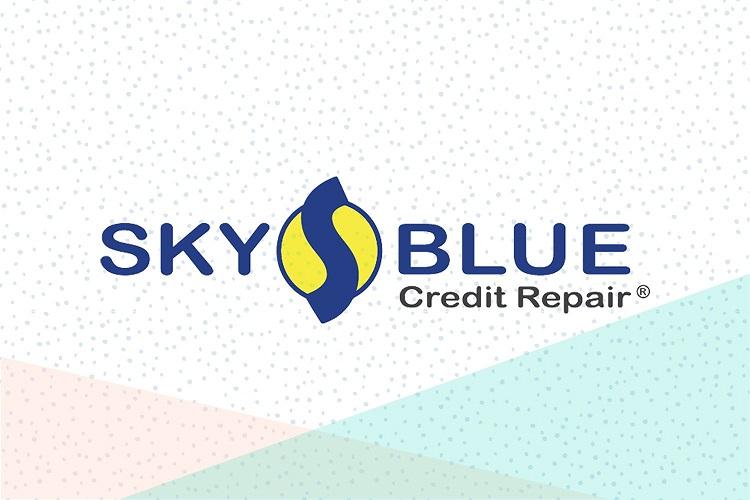 sky blue credit logo