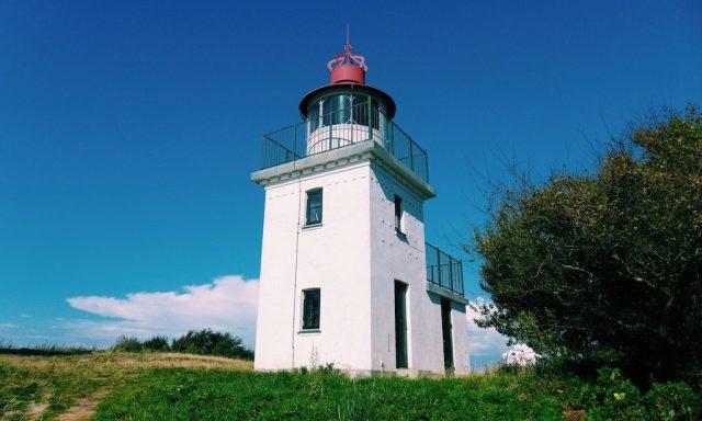 Der Spodsbjerg Leuchtturm und Hundested. Dänische Idylle pur.  Ein tolles Ausflugsziel in Nordseeland.