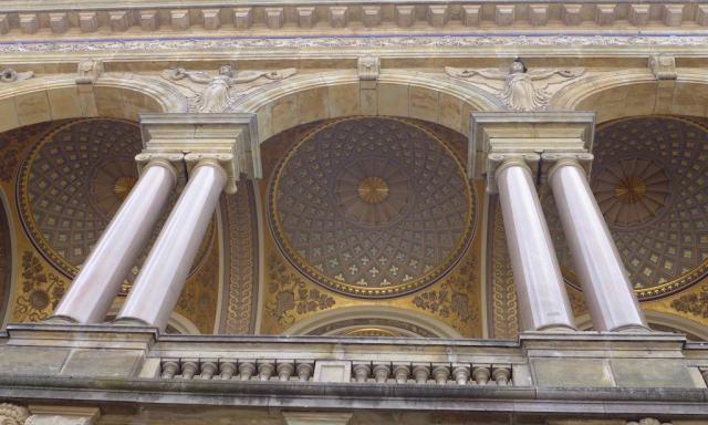 Das königliche Theater, die Decke