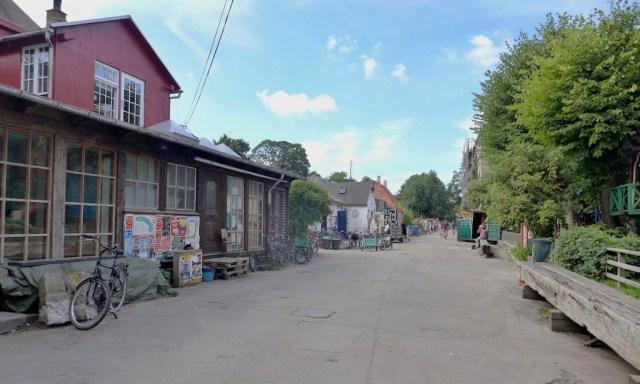 Straße in Christiania