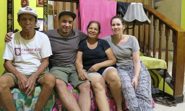 Ein Deutsch-Philippino und seine philippinischen Verwandten