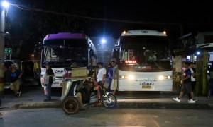 Die Ohayami Trans Busstation in Sampaloc Manila